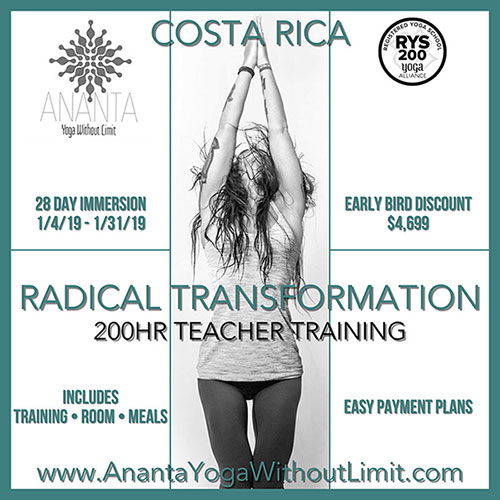 Ananta Yoga Teacher Training